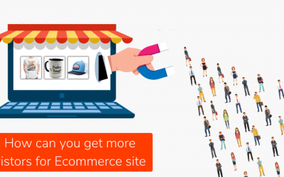 How can you get visitors for your Ecommerce website?